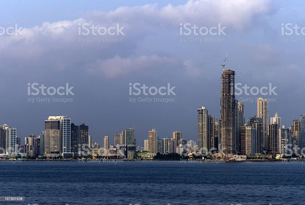 Panama skyline royalty-free stock photo
