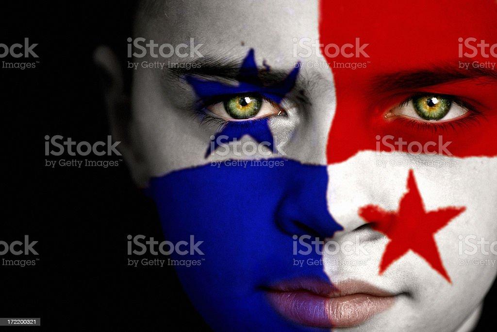 Panamanian boy stock photo