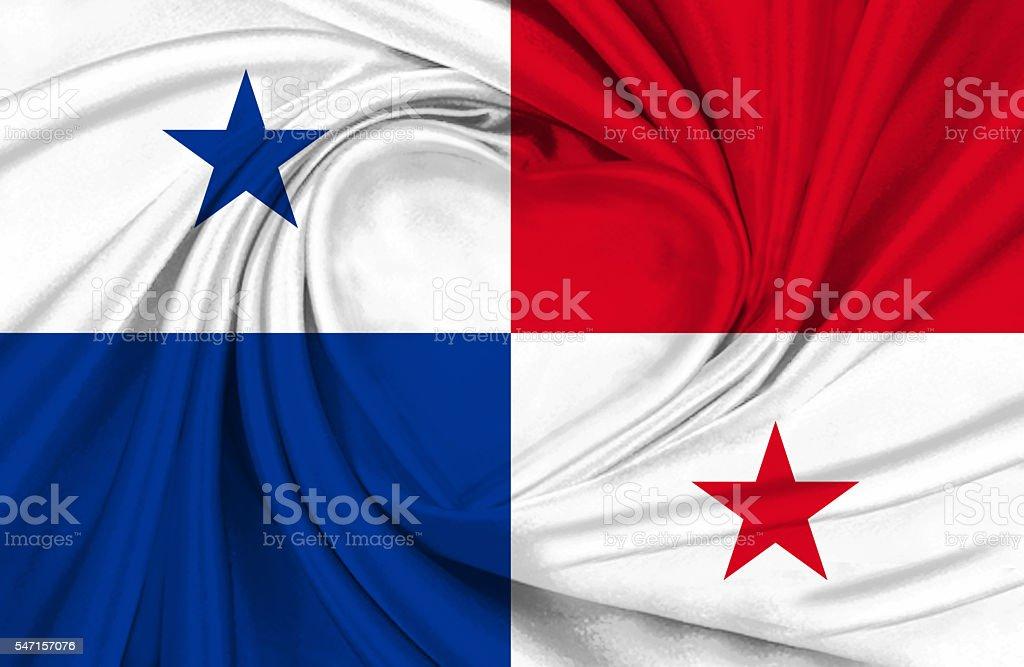Panamanian flag stock photo