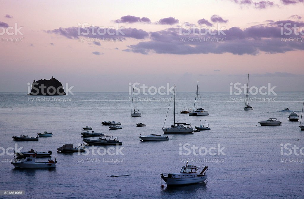 Panarea stock photo
