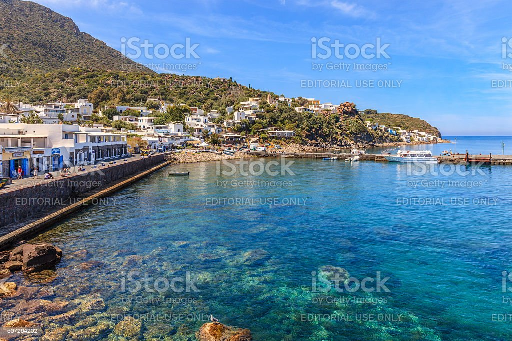 Panarea, Aeolian Islands, Sicily stock photo