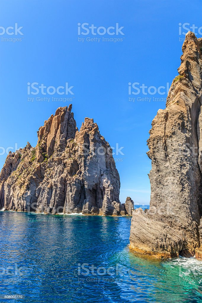 Panarea - Aeolian Islands, Sicily stock photo