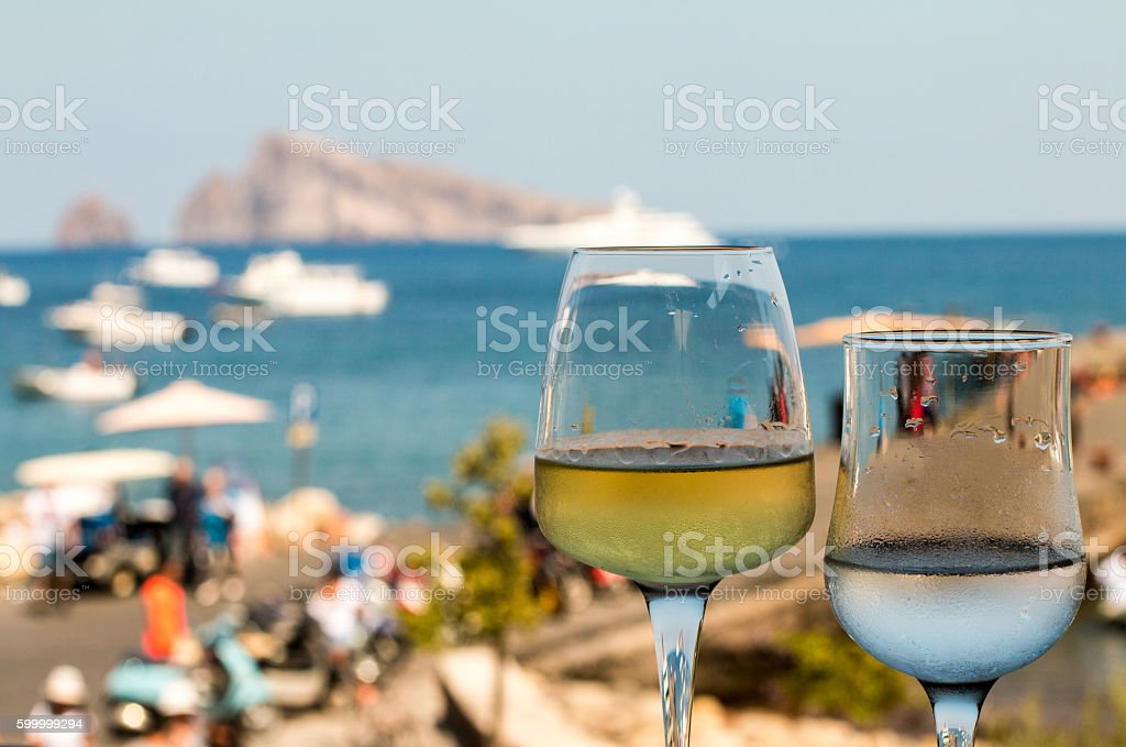 Panarea in the Aeolian Islands, Sicily stock photo