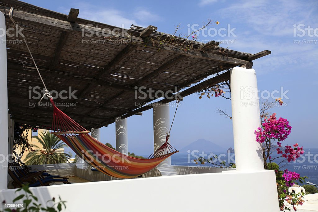 Panarea, Sicily stock photo