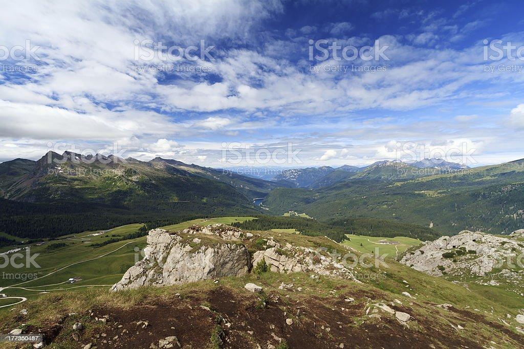Panaveggio natural park stock photo