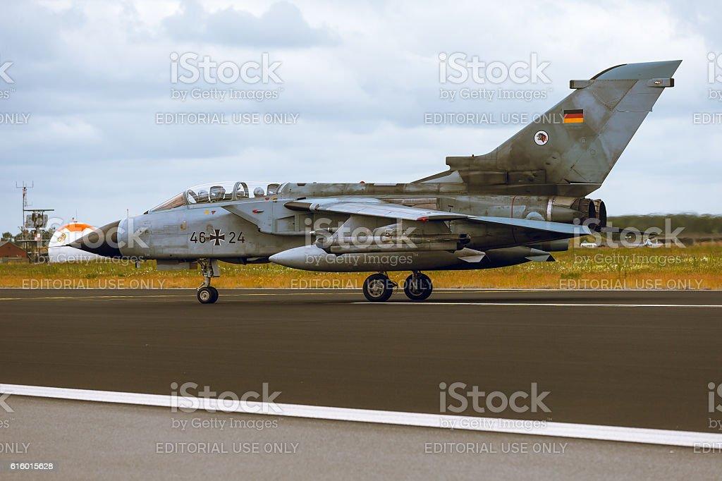 Panavia Tornado at NATO Tiger Meet 2014 stock photo