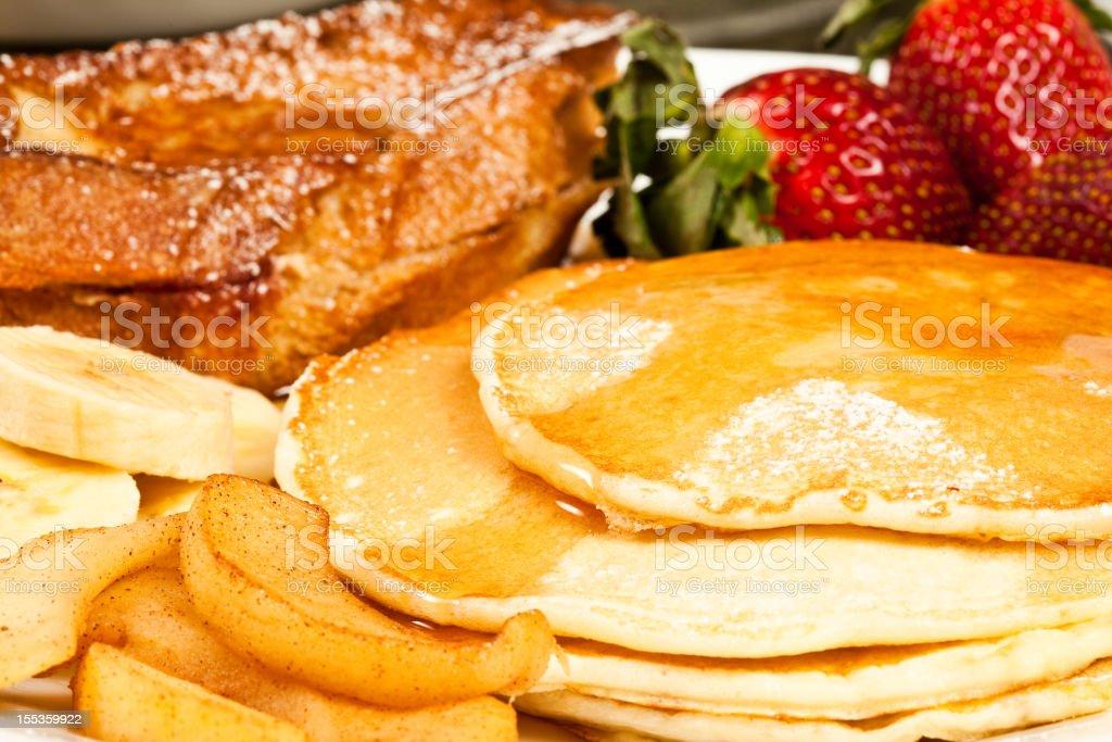 Pancake Breakfast royalty-free stock photo