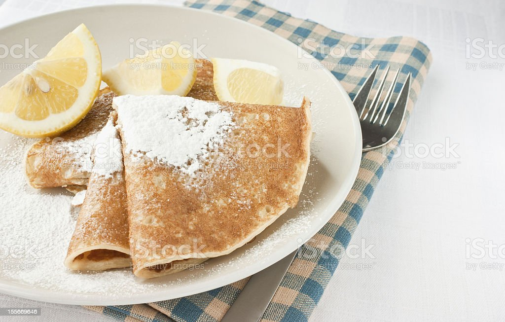 Pancake Day Shrove Tuesday stock photo