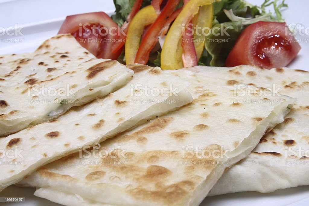 Pancake -Gozleme stock photo