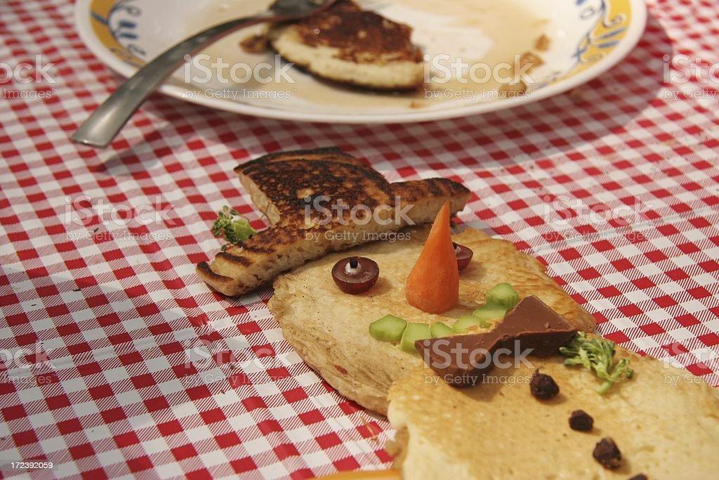 Pancake Man stock photo