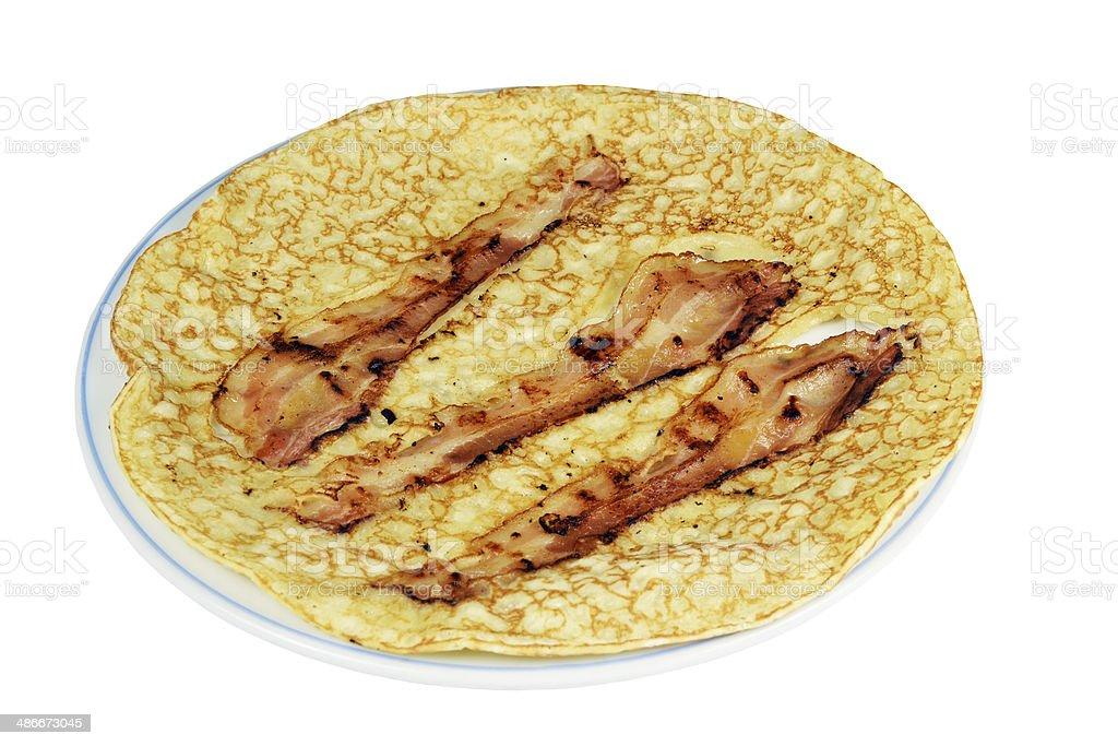 Pancake. stock photo
