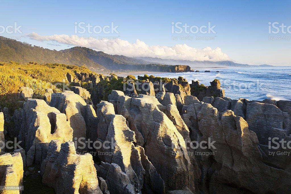 Pancake Rocks photo libre de droits