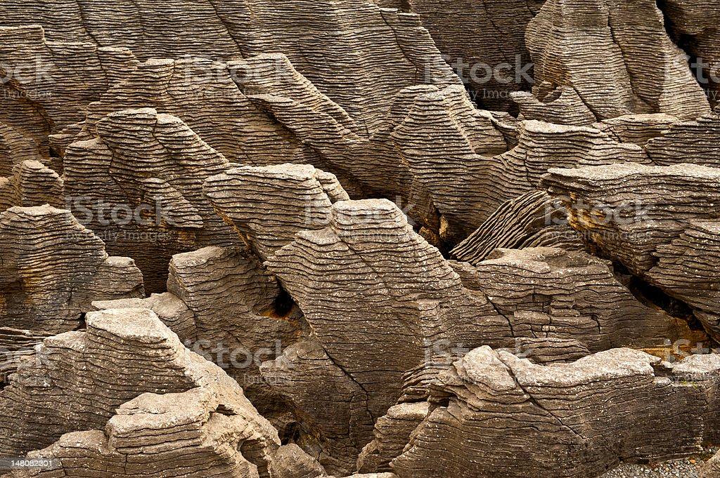 Pancake Rocks royalty-free stock photo