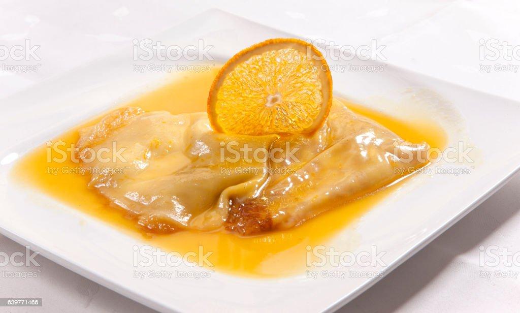 Pancakes 1 stock photo