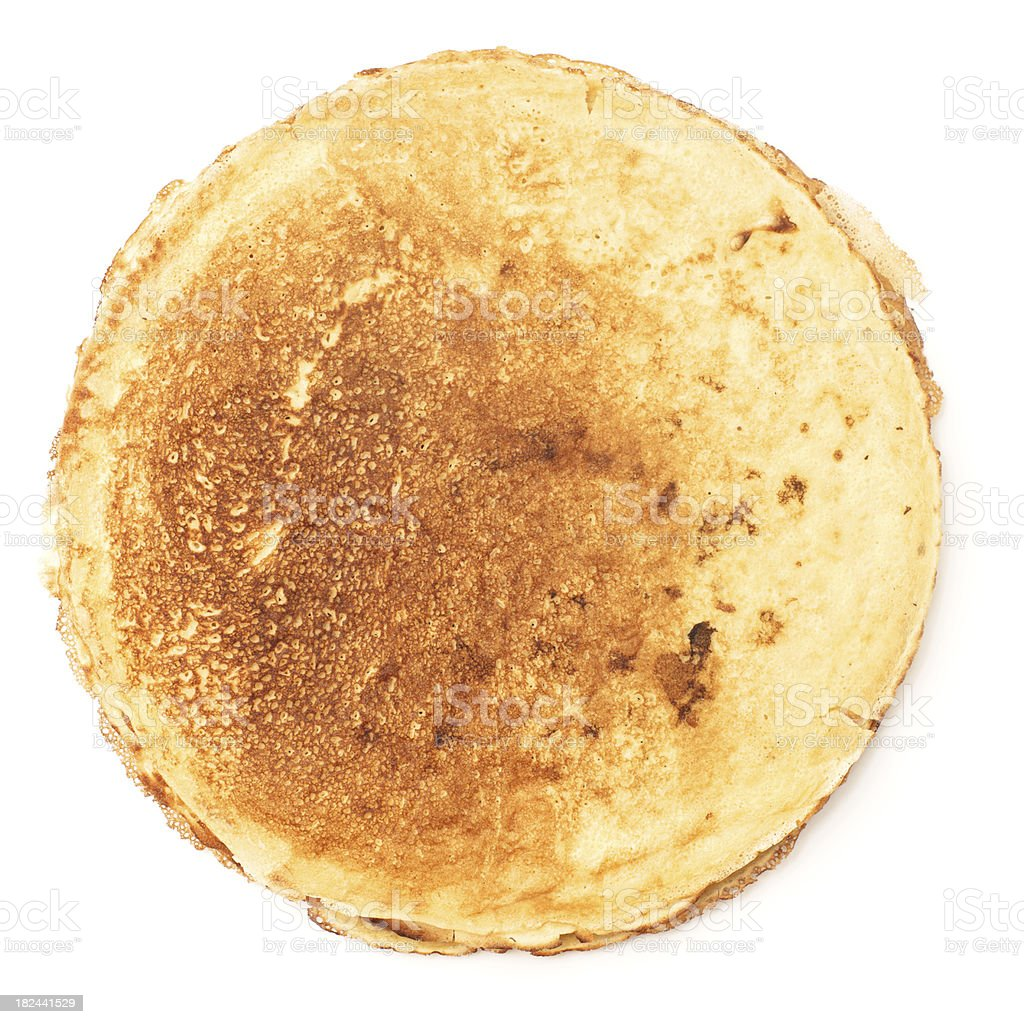 Pancakes from above royalty-free stock photo