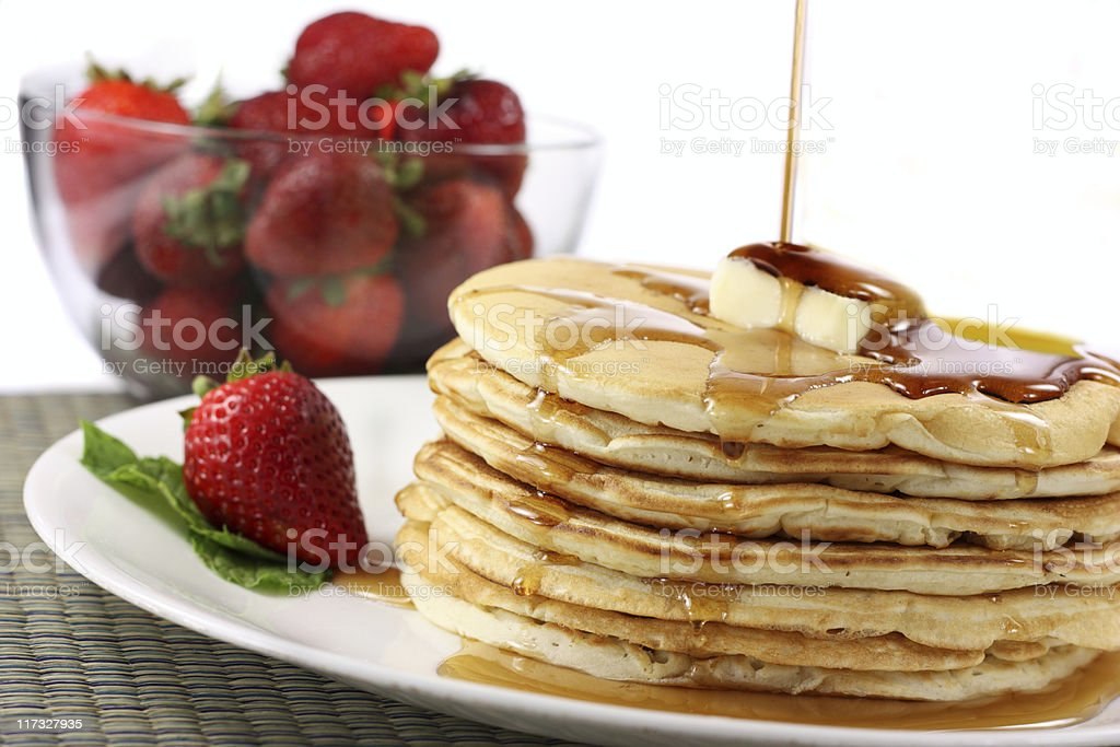 Pancakes royalty-free stock photo