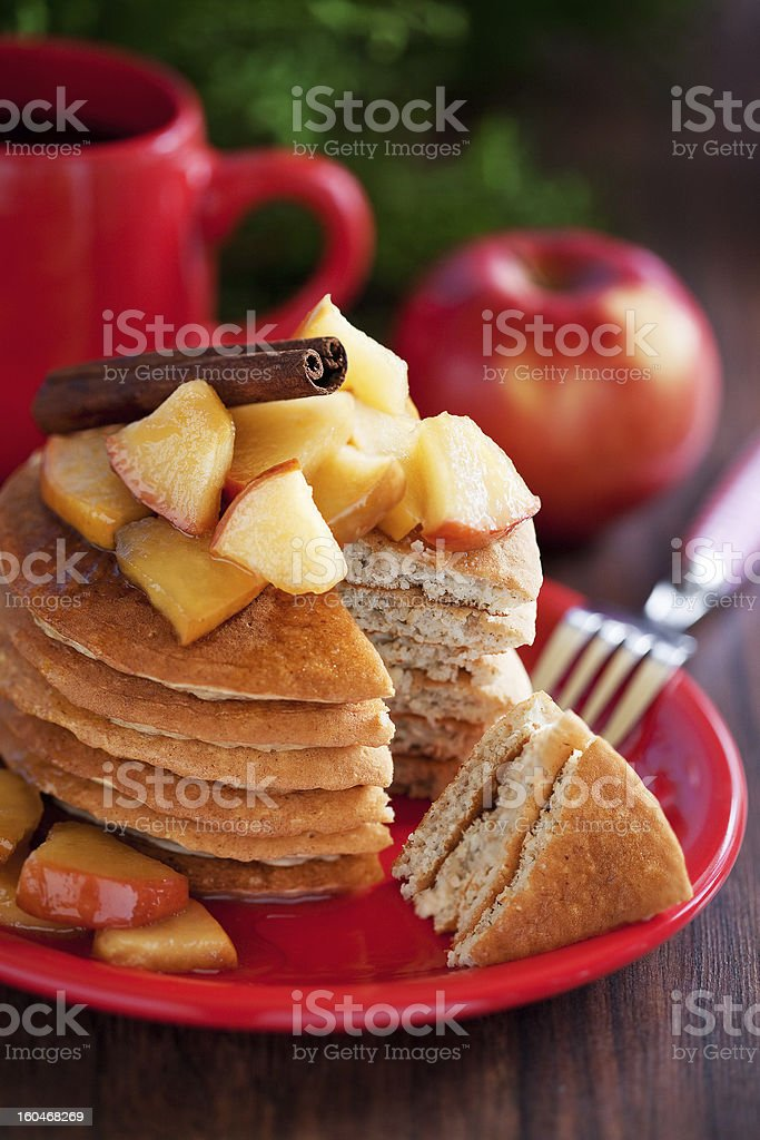 Pancakes royalty-free stock photo