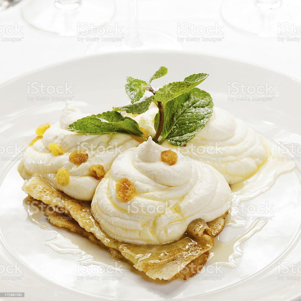 Pancake foto stock royalty-free