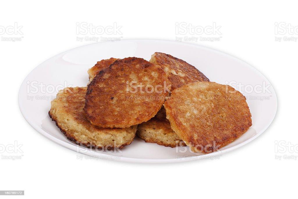 Pancakes stack royalty-free stock photo