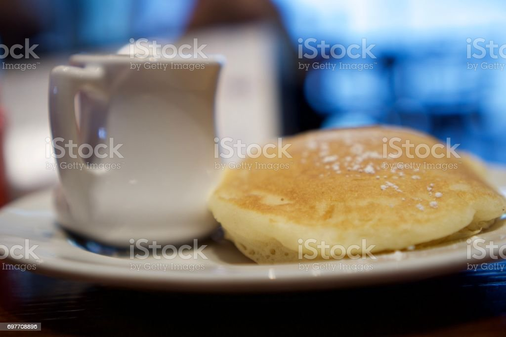Pancakes with Syrup stock photo