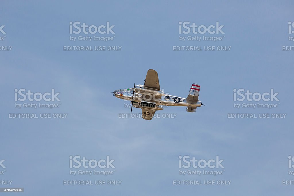 Panchito - North American B-25 Mitchells stock photo
