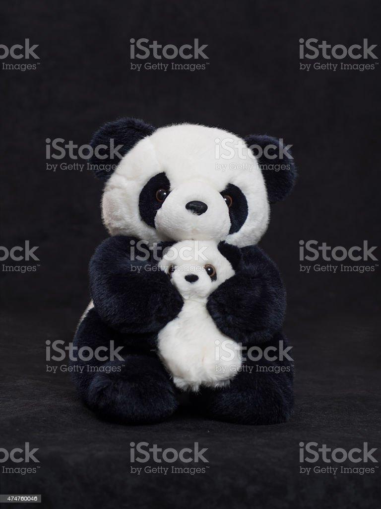 Panda toy stock photo