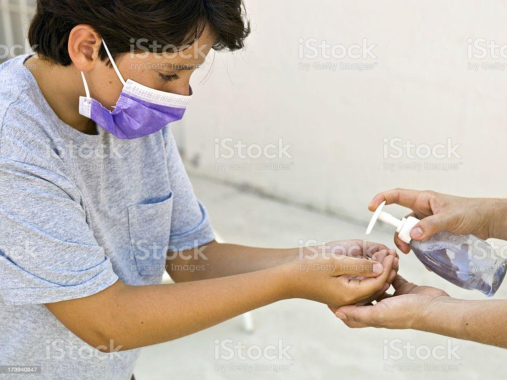 Pandemic times stock photo