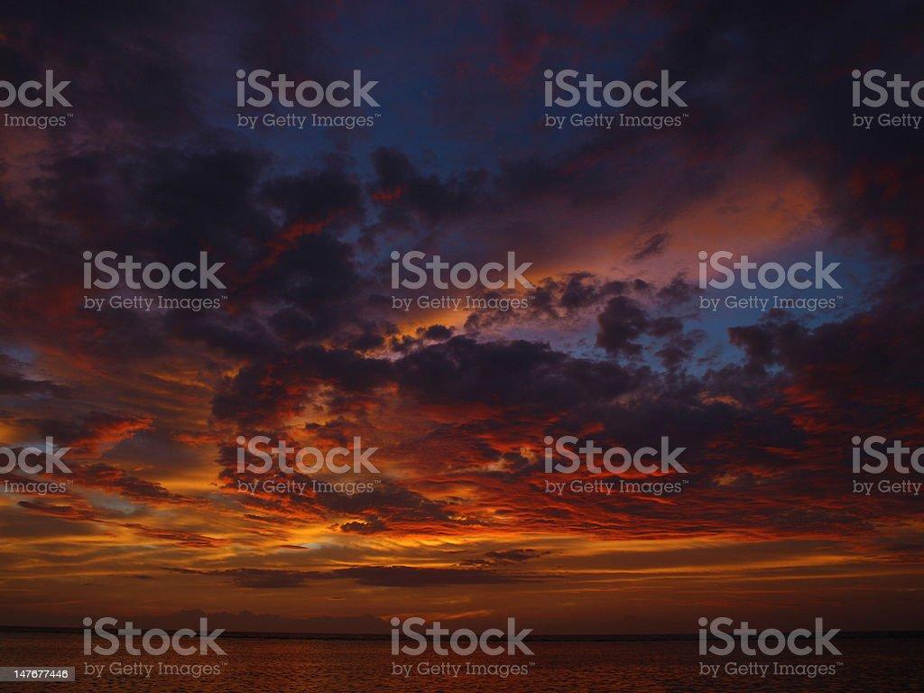 pandemonium sky royalty-free stock photo