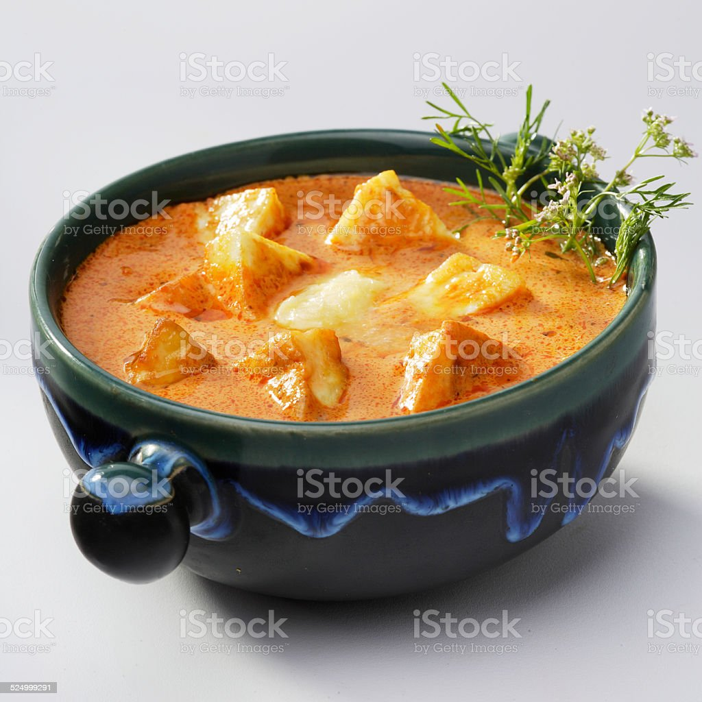Paneer Butter masala, Paneer Makhani, India stock photo