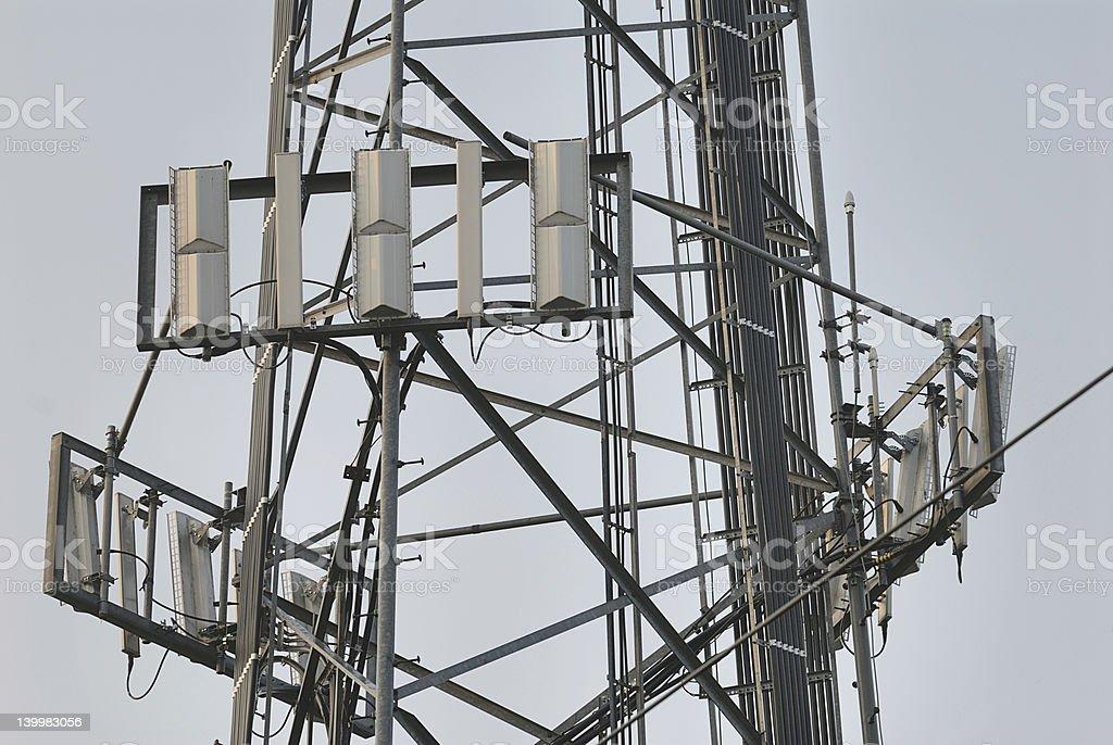 Panel Antenna royalty-free stock photo