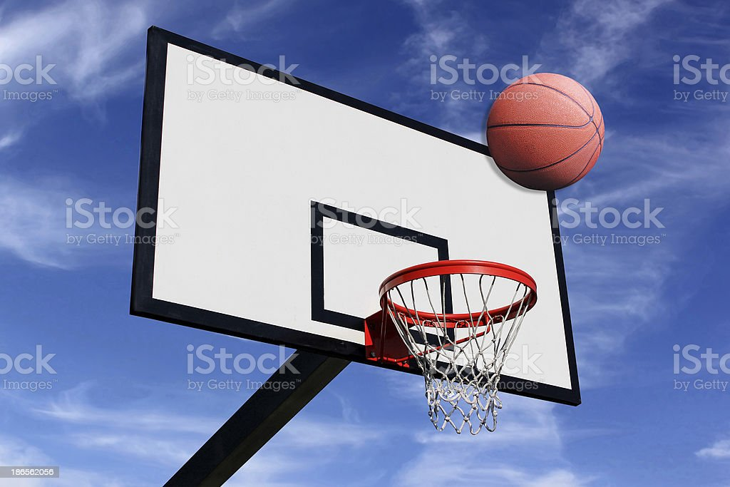 panel of basketball royalty-free stock photo