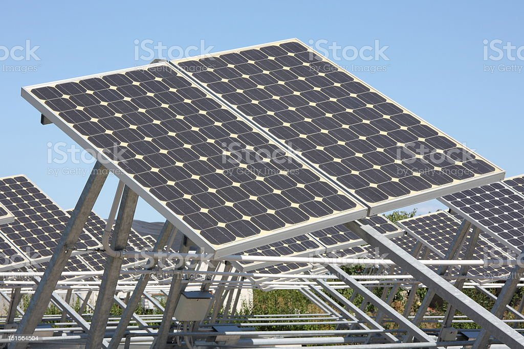 panel photovoltaic royalty-free stock photo