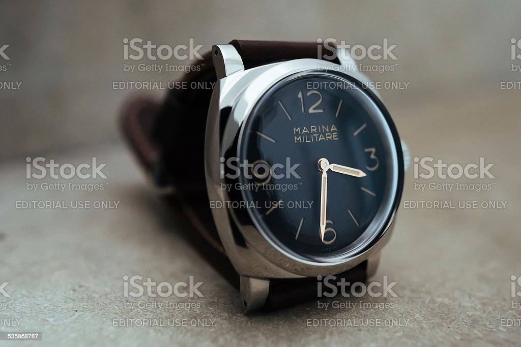 Panerai PAM 587 Marina Militare 1940 Radiomir stock photo