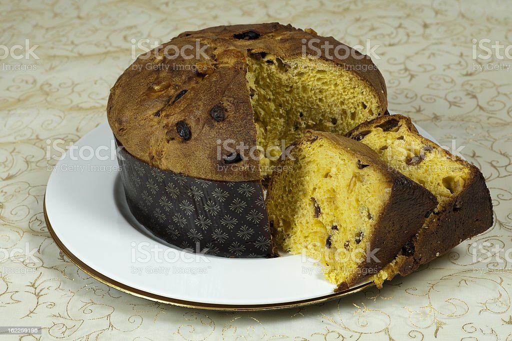 Panettone royalty-free stock photo