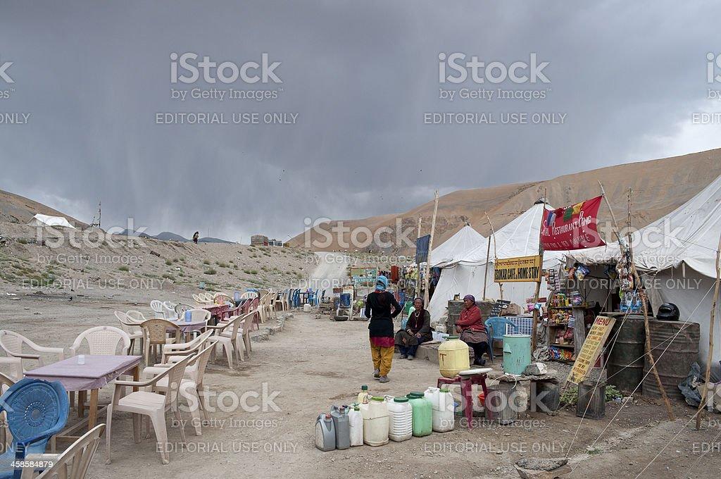 Pang Base before Storm royalty-free stock photo