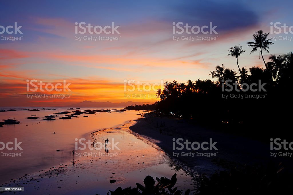 Panglao Island, Bohol royalty-free stock photo