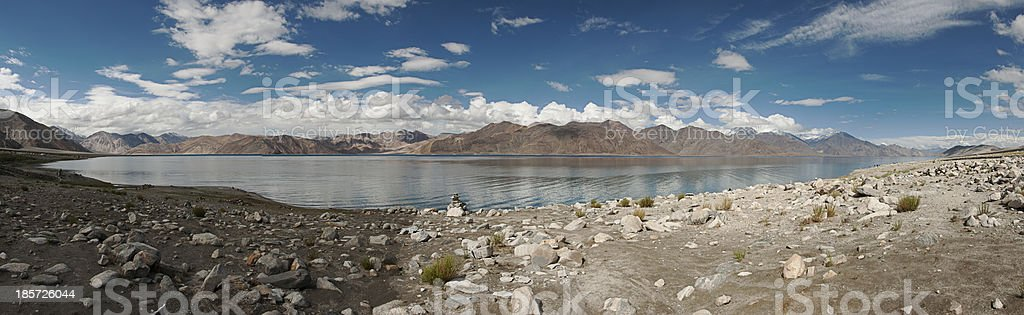 Pangong Lake royalty-free stock photo