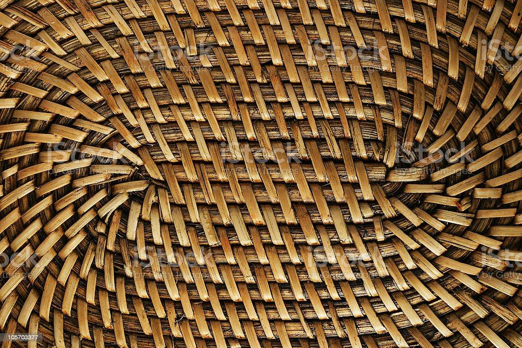 Panholder Texture (hand made - natural fibers) royalty-free stock photo
