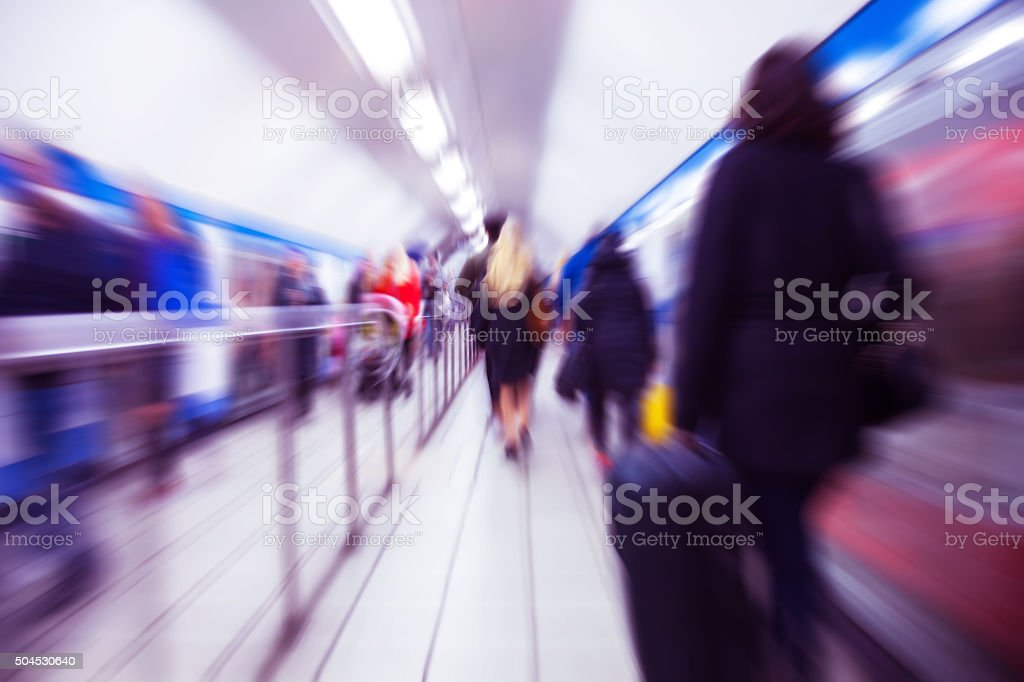 Panic Attack Point of View (Soft defocused) stock photo