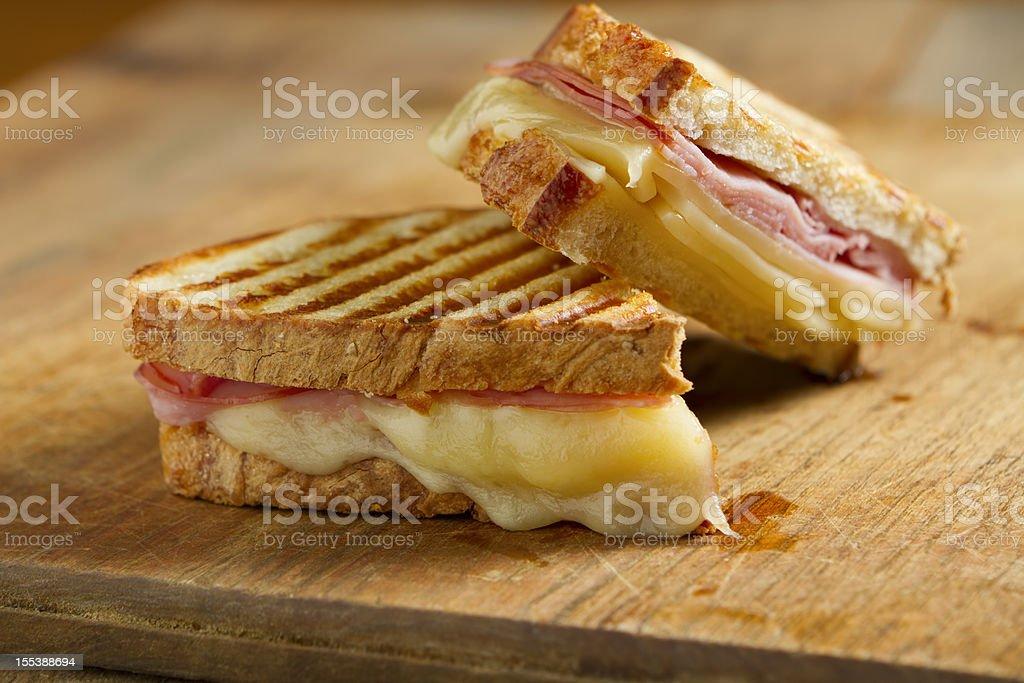 Panini Sandwiches stock photo
