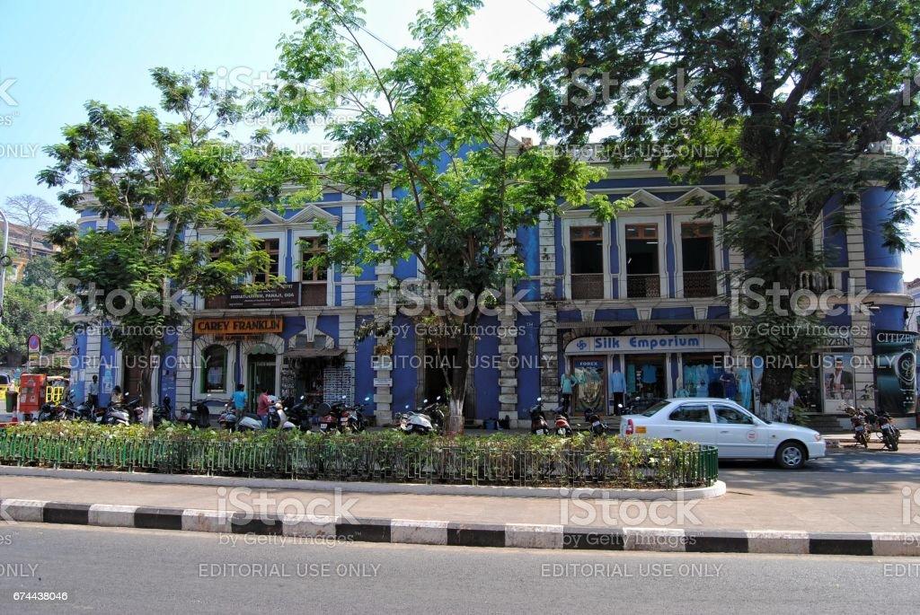 Panjim, Goa stock photo