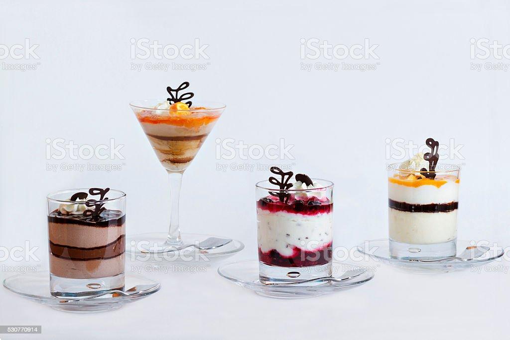 Panna cotta-More Delicious stock photo