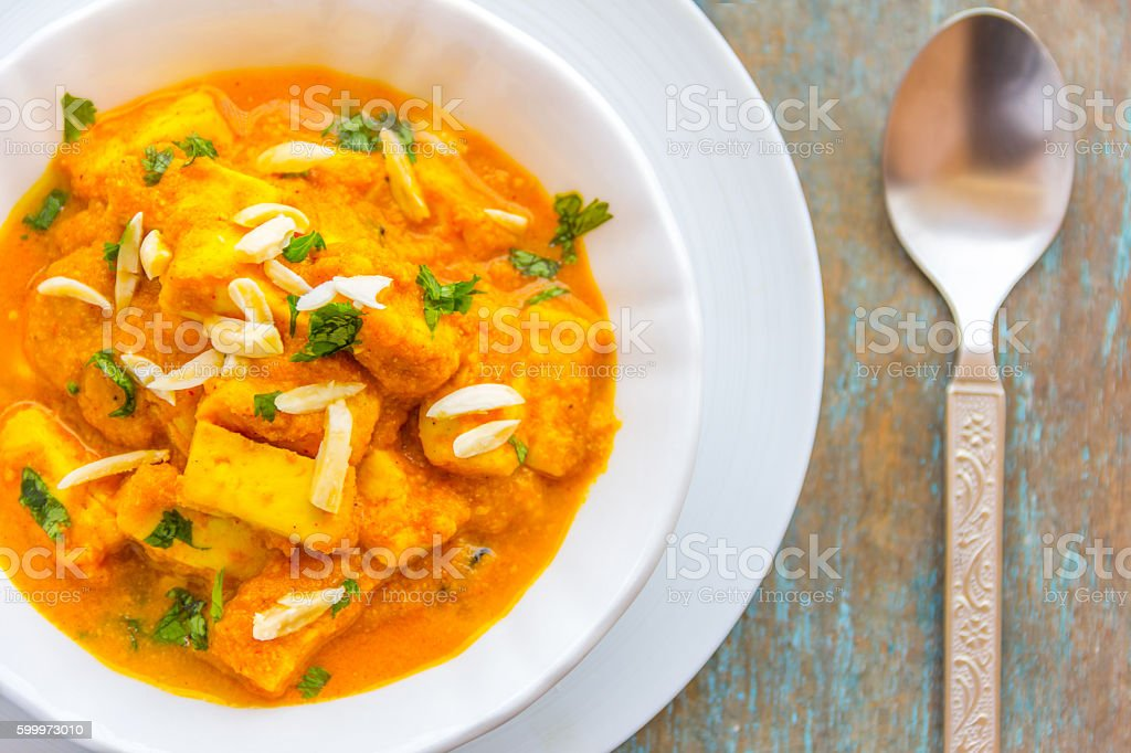 Panner Curry stock photo