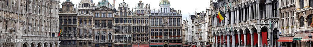 Panorama Brussels royalty-free stock photo