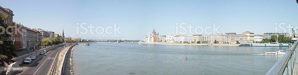 Panorama Budapest stock photo