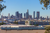 Panorama image of Downtown Los Angeles