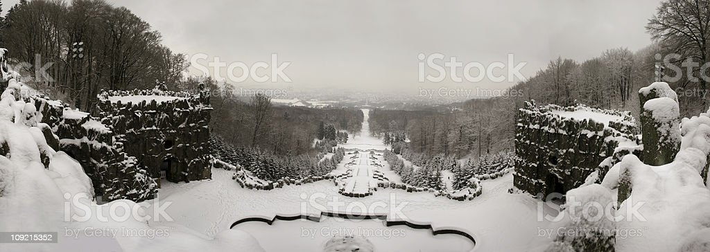 Panorama Kassel stock photo
