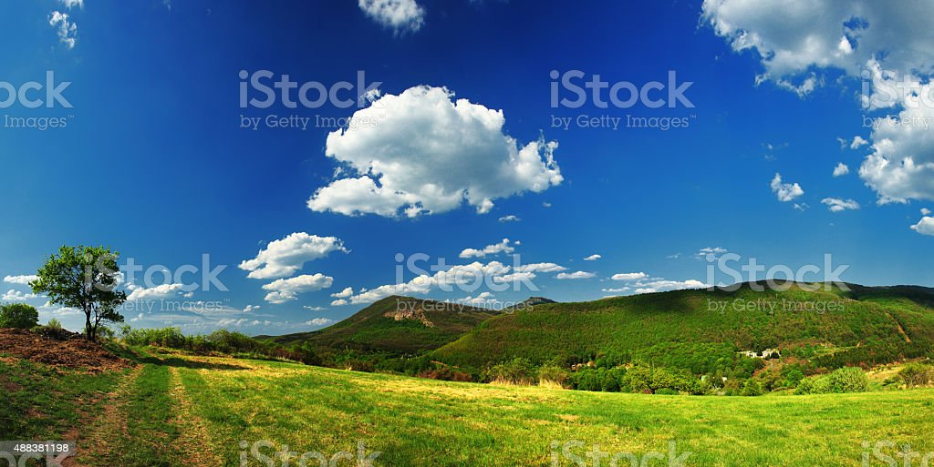 Panorama landscape stock photo