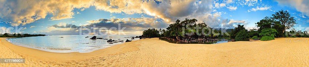 360 Panorama Madagascar stock photo