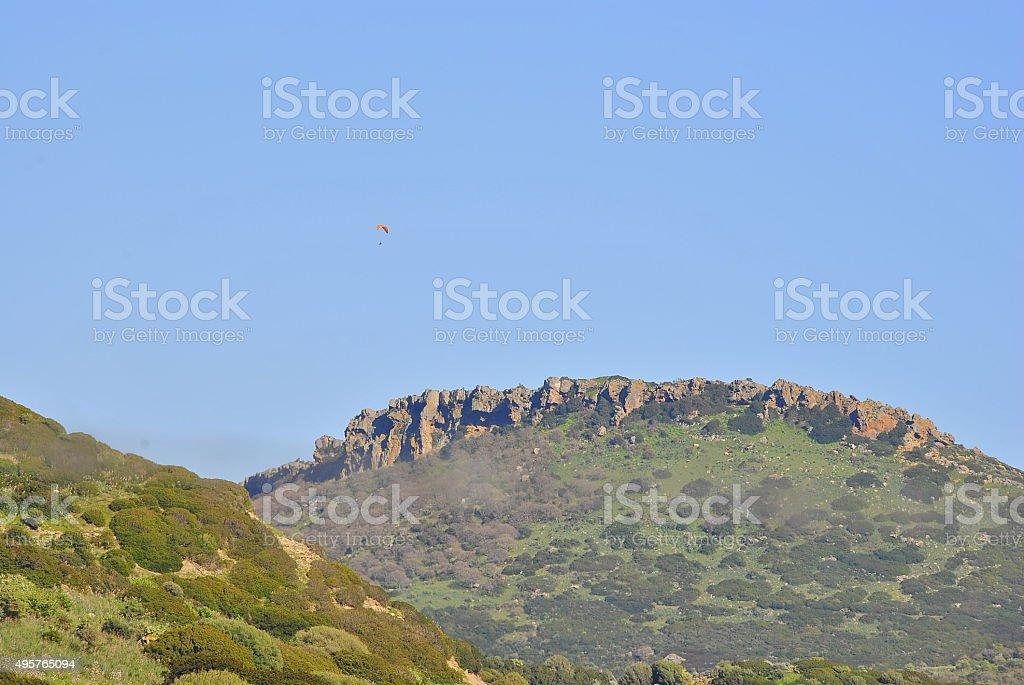 Panorama montuoso Sardegna stock photo
